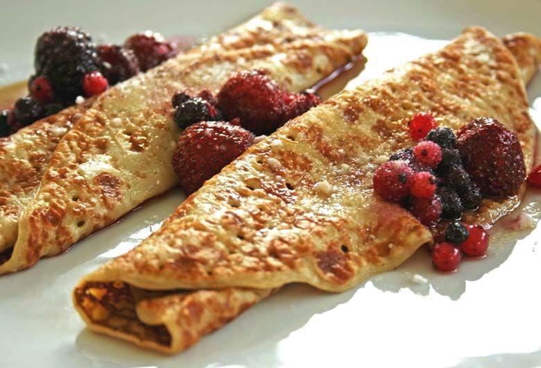 Los crepes tienen su origen en francia un postre ideal for La comida tipica de francia