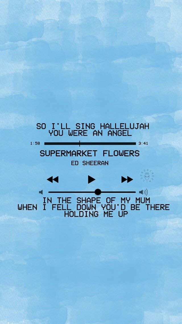 Lyric hallelujah square lyrics : Supermarket Flowers - Ed Sheeran | Lyrics | Pinterest | Wallpaper ...