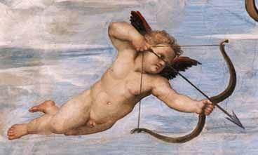 Latin love cupid