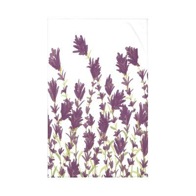 Alcott Hill Orchard Lane Lavender Floral Fleece Throw Wayfair Purple Throw Blanket Personalized Throw Blanket Lavender Bedding