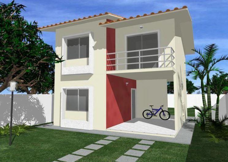 Fachadas de casas modernas de dos pisos sencillas for Fachadas de casas rusticas sencillas