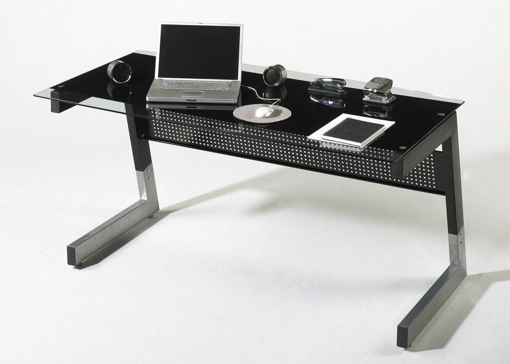 Schreibtisch Big M Metall Und Glas Schwarz 20570. Buy Now At Https://