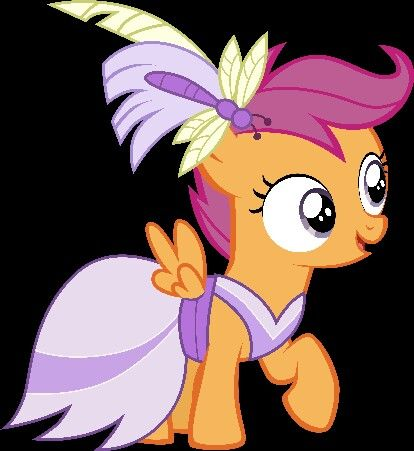 Gala Dress Scootaloo Mlp My Little Pony Mlp Cutie Marks Mlp Pony Oh right, it is pretty, gtg! little pony mlp cutie marks mlp pony