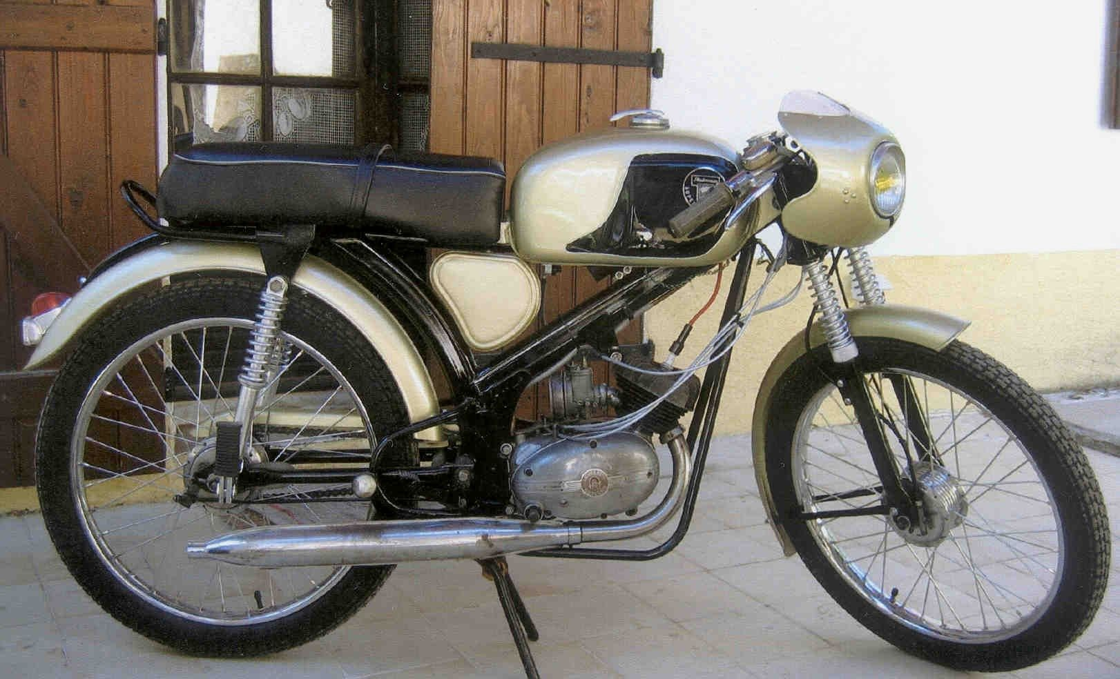 Cyclomoteur Ancien Cafe Racer