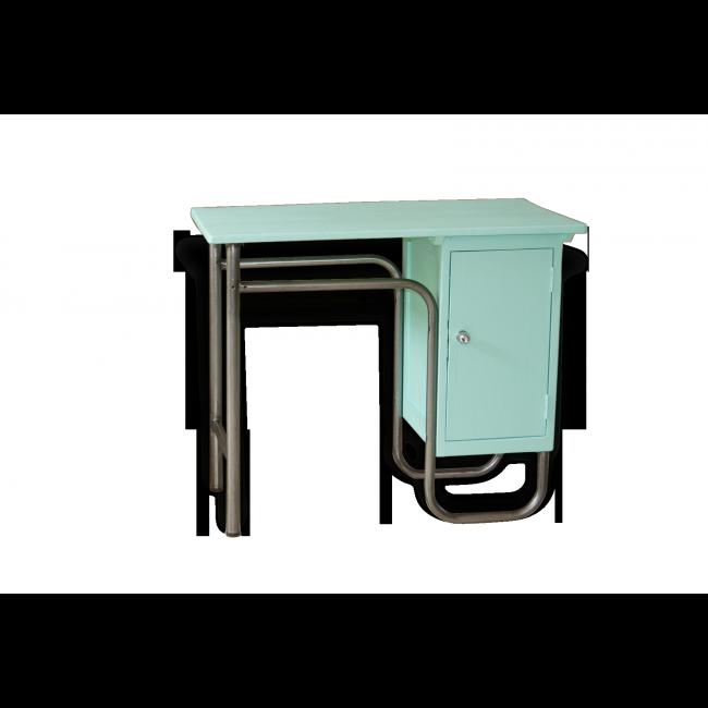 ancien bureau d 39 internat ou de ma tre d 39 cole des ann es 60 celui i tait utilis par une. Black Bedroom Furniture Sets. Home Design Ideas