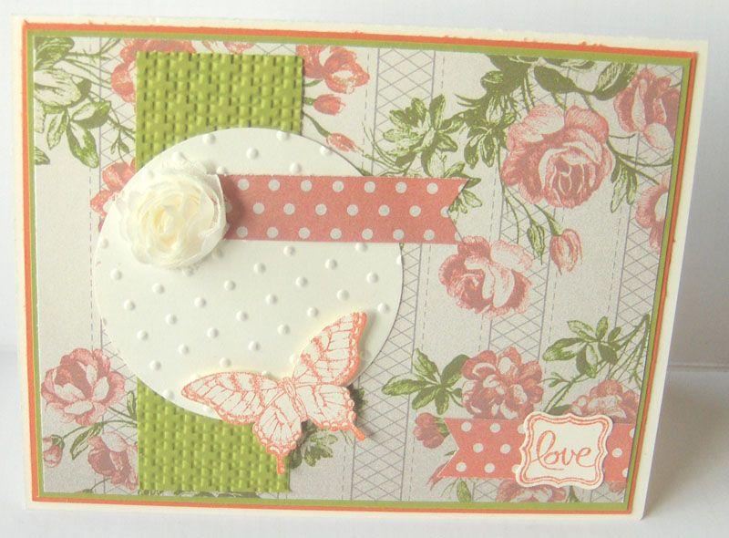 My two favorites .  .butterflies & roses!  Janice Rosenthal Rock - Bella Cosa