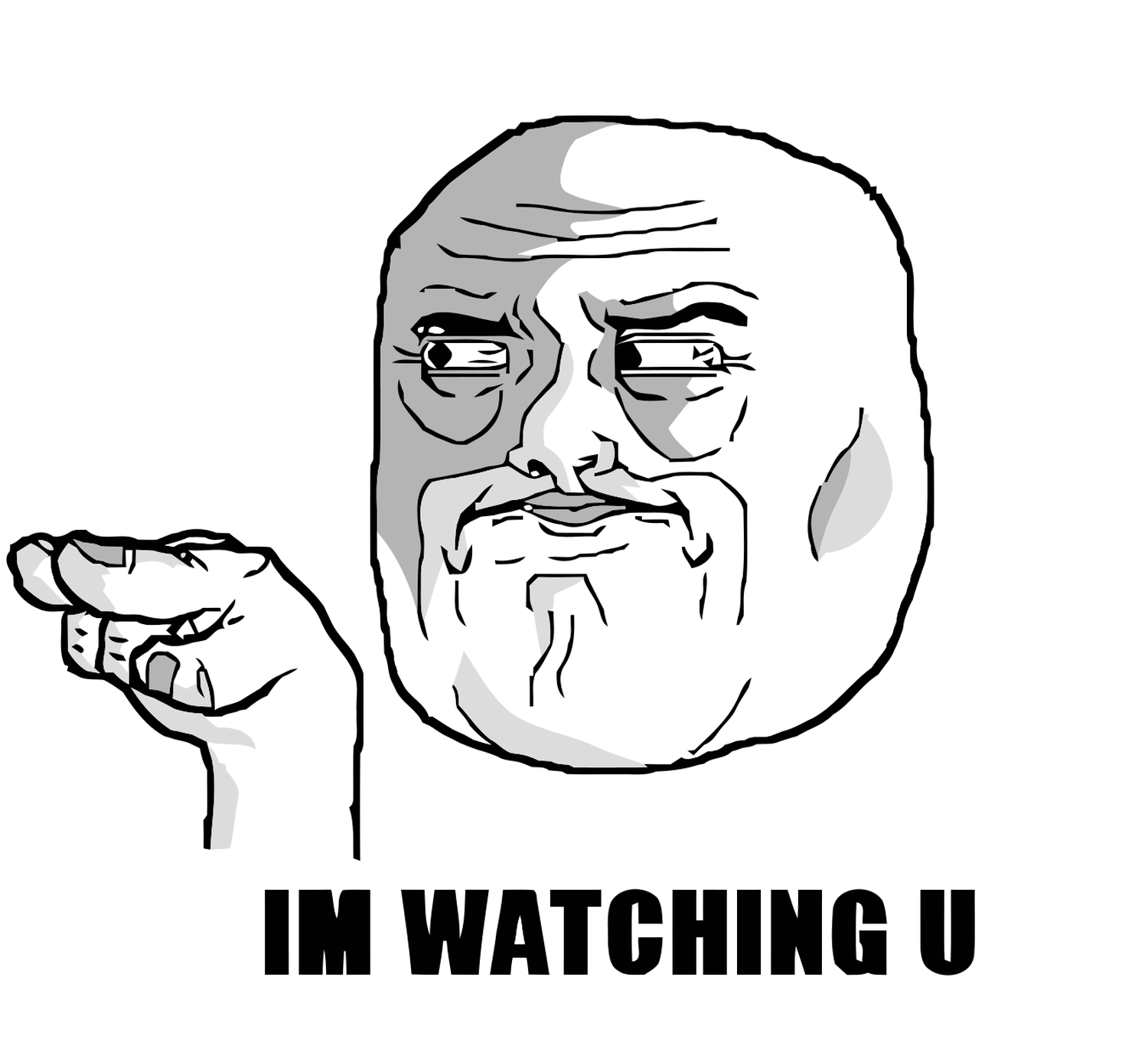 Funny Meme Smileys : All troll meme faces watching u face on the