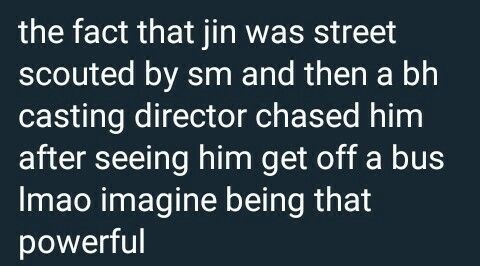 Worldwide handsome jin BTS