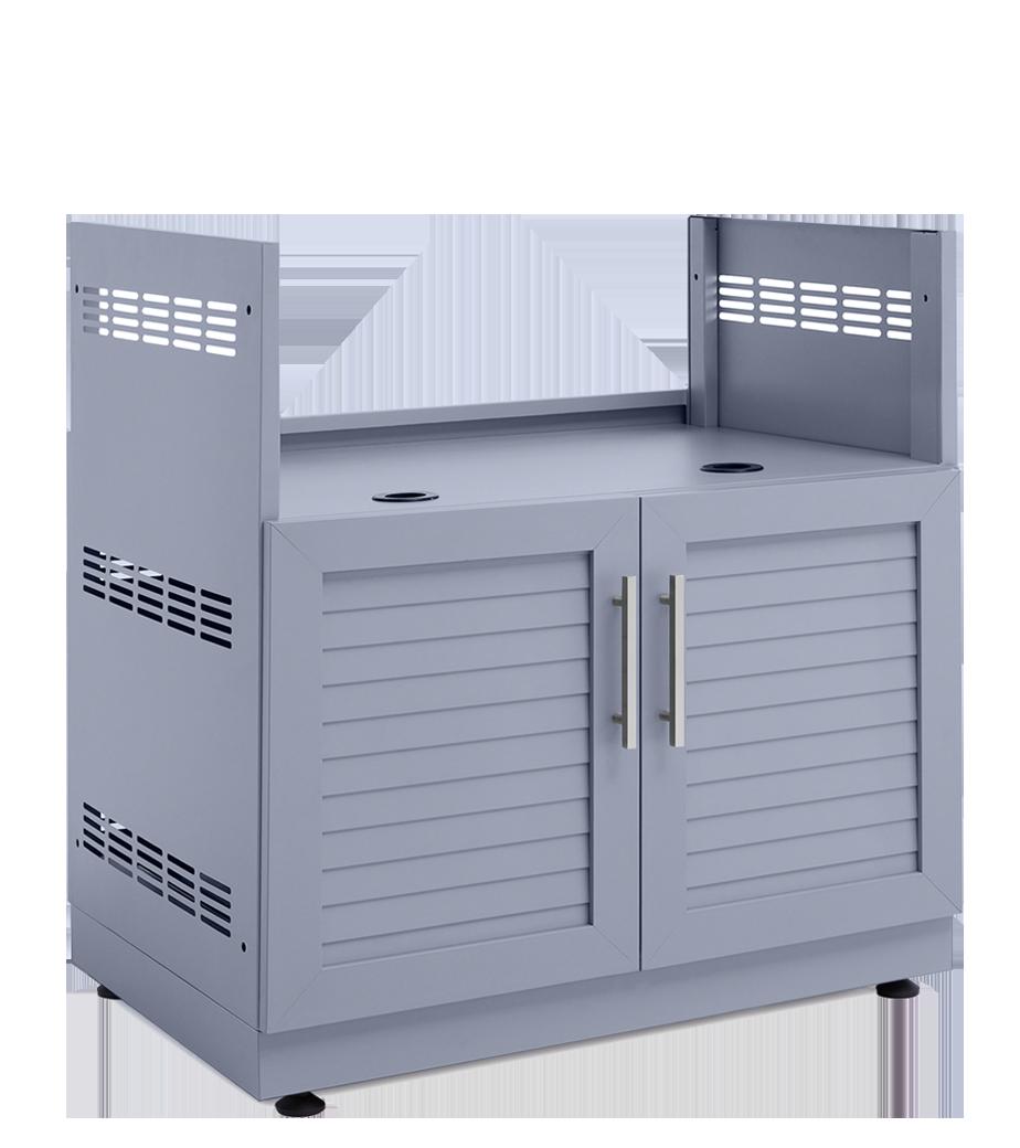 Aluminum Outdoor Kitchen Cabinets Kits Newage Products Us Outdoor Kitchen Cabinets Outdoor Kitchen Aluminum Kitchen Cabinets