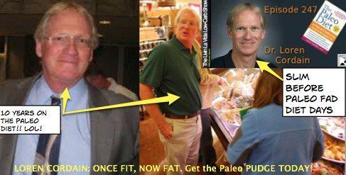 dr. loren cordain the paleo diet