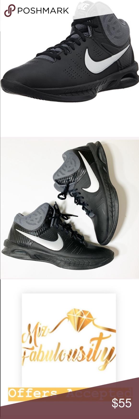Máquina de recepción Brillar Periódico  Nike Air Visi Pro6 grey & black basketball sneaker Nike Air Visi Pro 6 grey  & black basket ball sneaker ******Size Men's 7.5 is Nike … | Nike air, Nike,  Sneakers