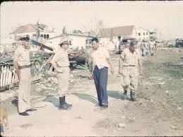 Stann Creek 1961 After Hurricane Hattie Belizean Historical Images Image