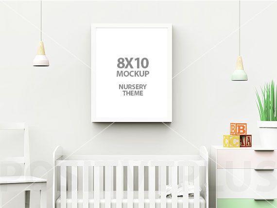 8x10 mockup frame mockup nursery frame mockup nursery mockup 8x10 picture frame 8x10 photo frame white 8x10 frame