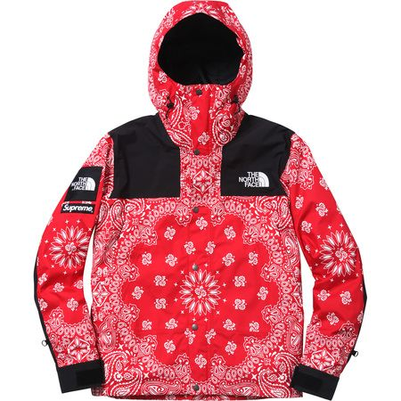 0154255c Supreme x NorthFace Bandana Mountain Parka Supreme Clothing, North Face  Jacket, The North Face