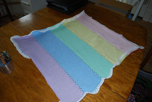 Ravelry: MrsZ17's Baby Afghan with Bond Knitting Machine