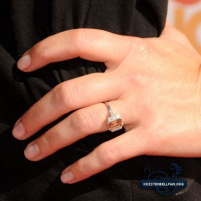 Kristen Bell from Dax Shepard Engagement Rings Pinterest