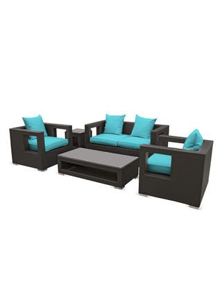 Best Pearl River Modern Ca Apollo Outdoor Living Set 5 Pc 640 x 480