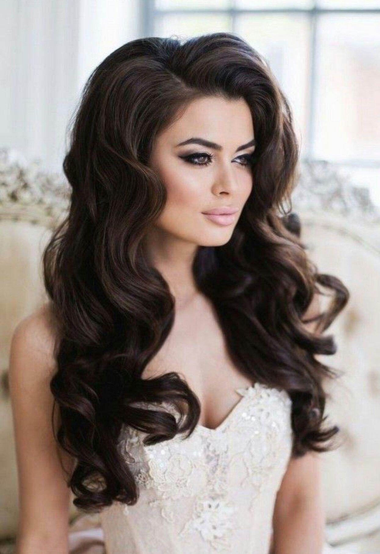 pinruta rutele on plaukai | wedding hair down, hair
