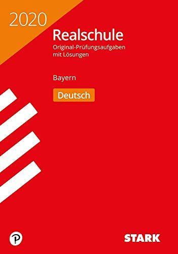 STARK Original-Pr¨¹fungen Realschule 2020 - Deutsch - Bayern #Pr, #fungen, #STARK, #Original