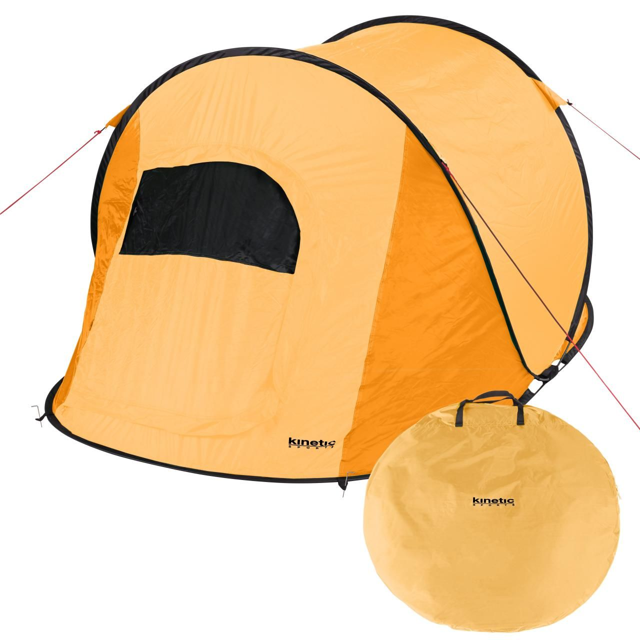 Zelte Camping & Outdoor Tasche Automatik Zelt Orange