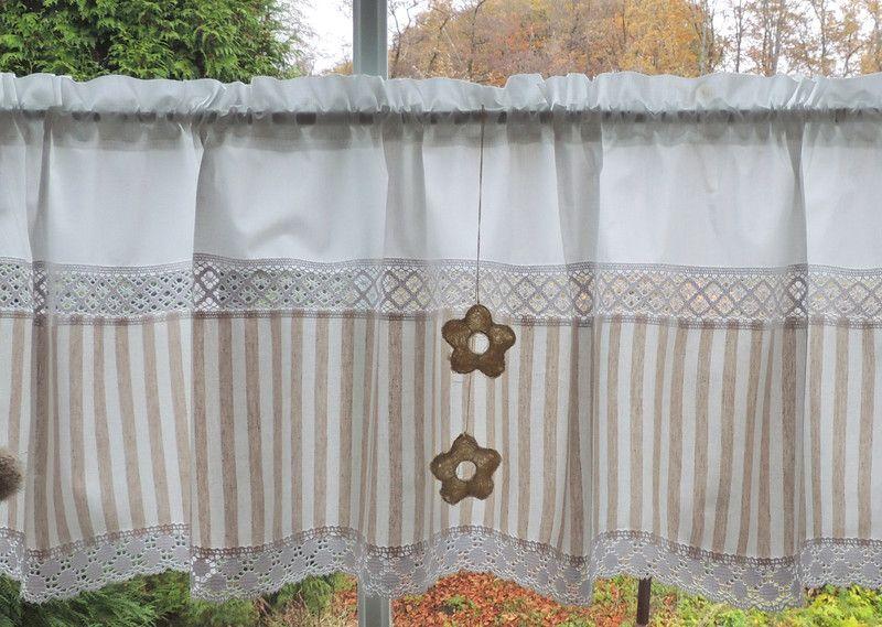 Gardinen - Zeitlose Gardine Landhaus und auch klassisch - ein