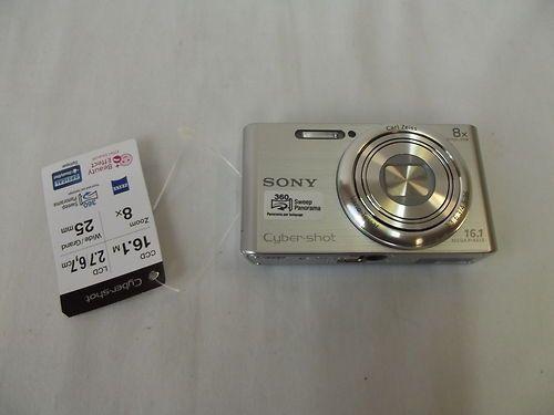 """SONY DSC-W730 CYBER-SHOT DIGITAL CAMERA 3"""" LCD 16.1 MEGAPIXEL 8X ZOOM 720P"""