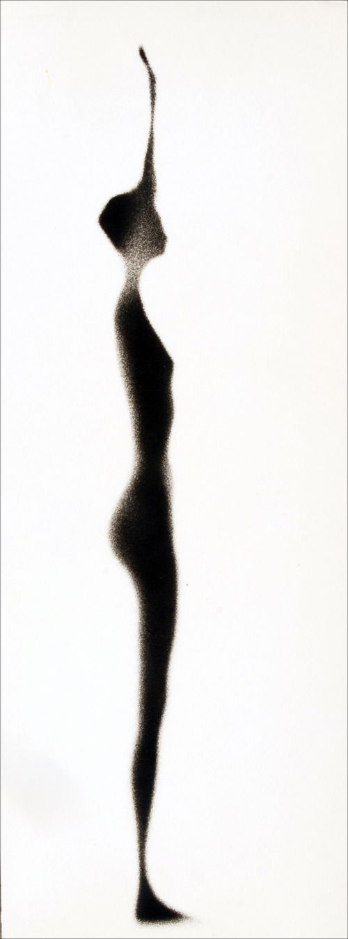 """Paul Himmel I really like the effects on this photographic piece, the way this woman's human figure has been edited and faded away could really represent the theme of being """"Forgotten""""."""