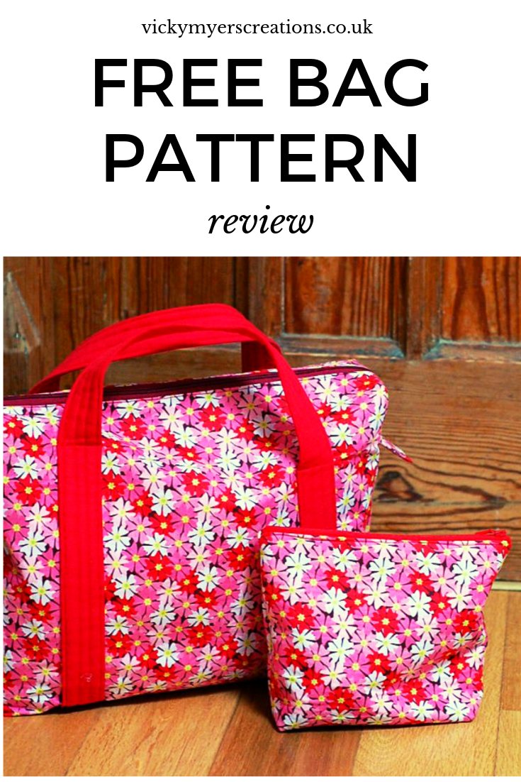 Overnight bag pattern This free boxy overnight bag pattern sew's up into a beautiful bag> Learn mor