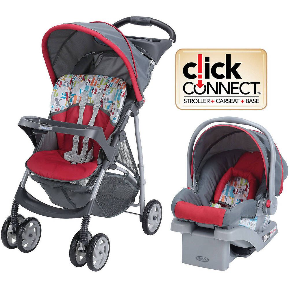 Graco Fastaction Click Connect TRAVEL SYSTEM, BABY