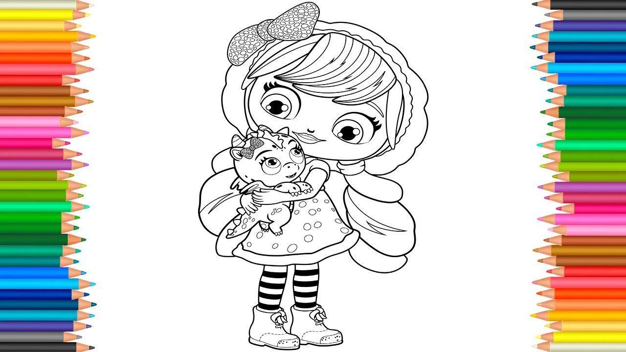 Little Charmers Lavender and Flare Coloring Book Videos ...