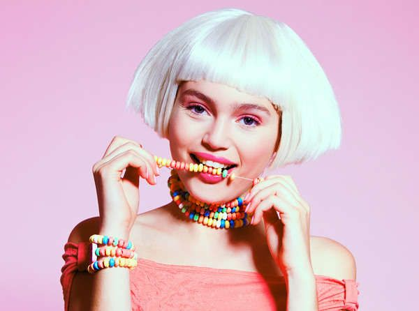 Sweet-Toothed Beauty Photoshoots - Candy Worhol by Tomaas Focuses on Delicious Pastel Looks (GALLERY)