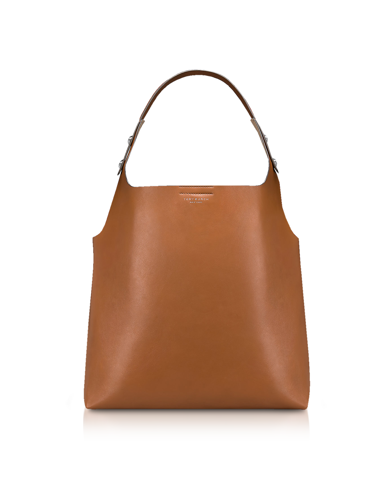New Arrivals  Tory Burch - Rory Light Umber Leather Tote Bag ... 62a2f23047