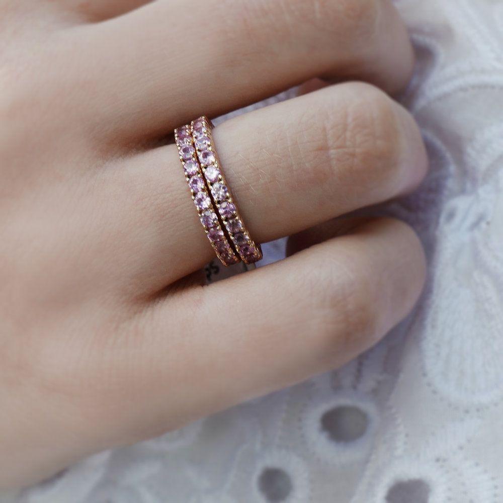 ddaf757ea Vintage tiffany nesting wedding band   Ashley Zhang Jewelry   Jewelry, Wedding  bands, Tiffany