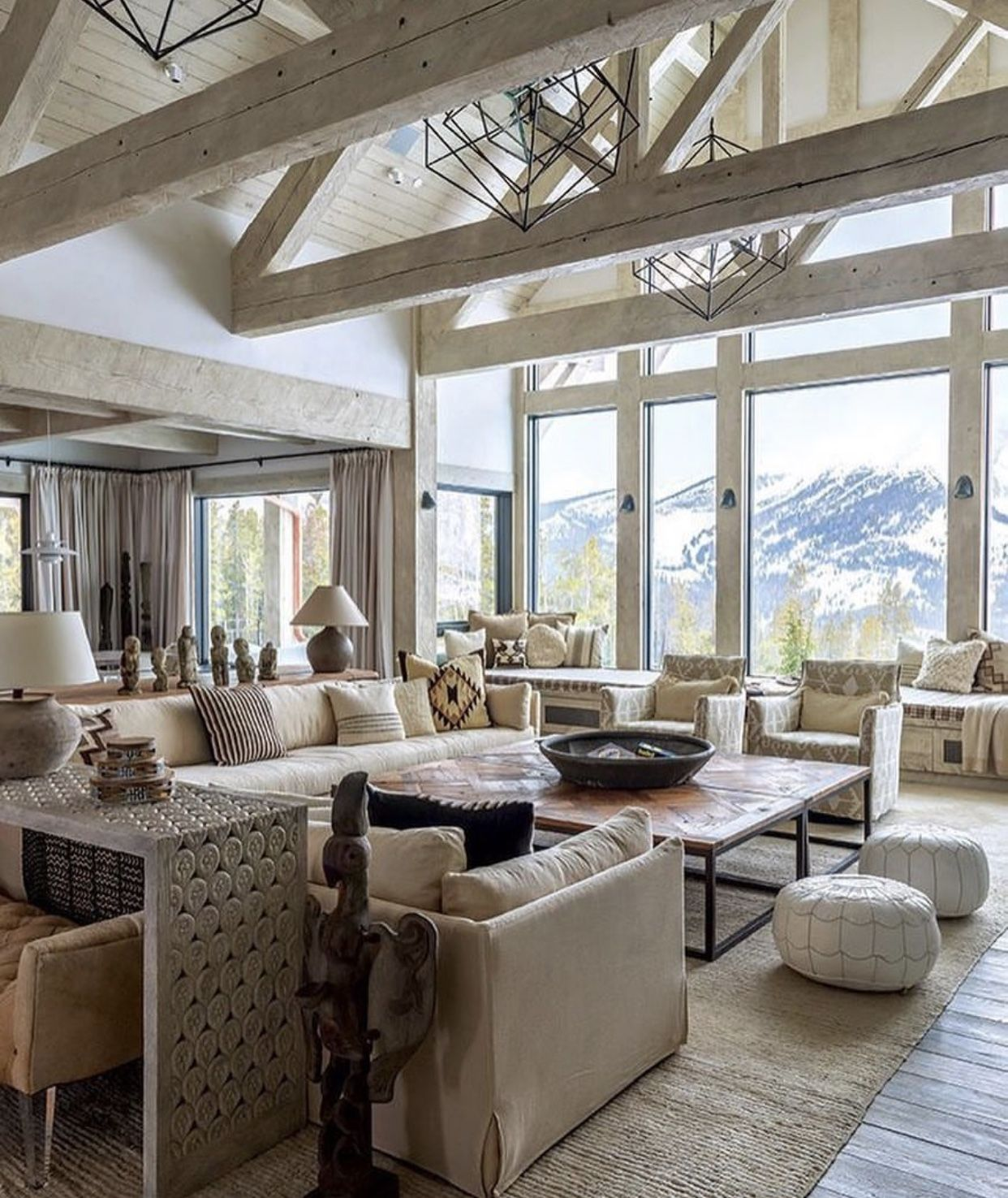 Vaulted ceiling living room image by Danielle Punkryte on ...