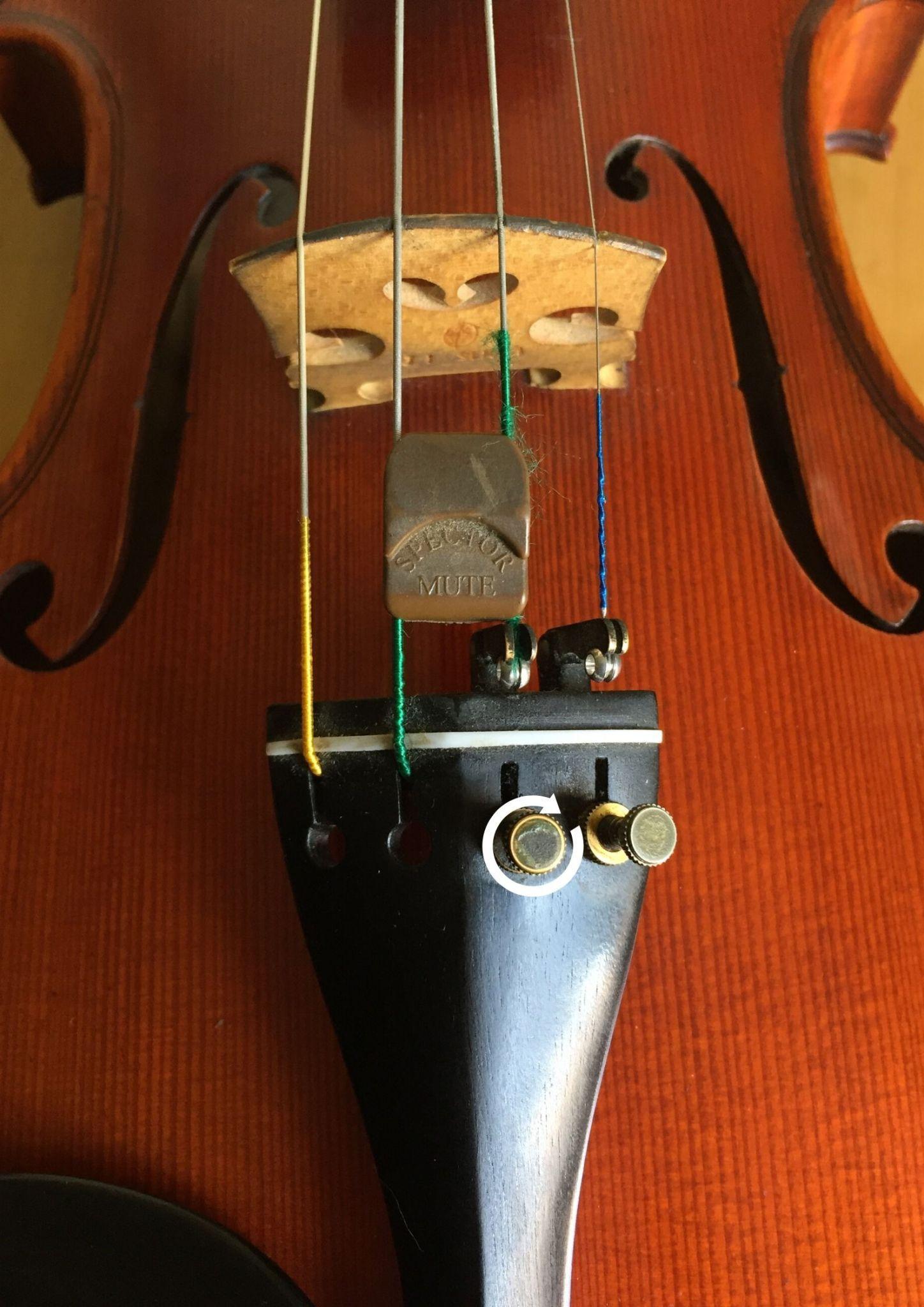 Cómo Afinar El Violín Soul Violin Studio Violines Ukelele Instrumentos Musicales