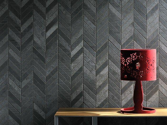 Porcelain stoneware wall tiles with stone effect Ardesia Mix