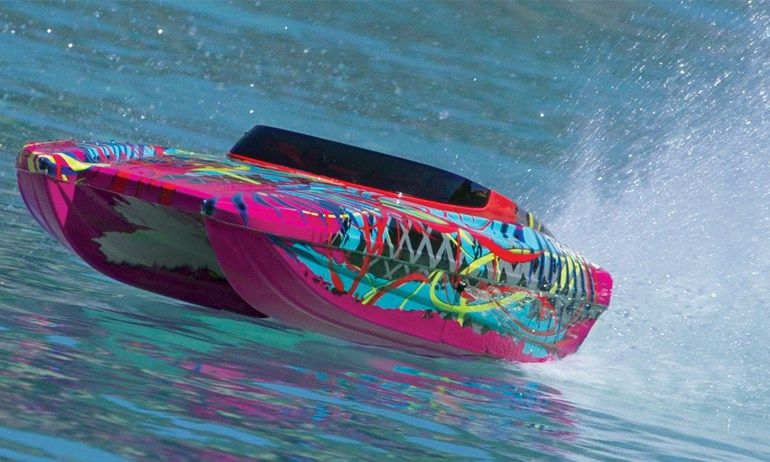 Make Waves With The DCB M Widebody RC Boat From Traxxas RC - Custom vinyl decals for rc boatsrc boat archives bonzi sports rc gas boats and accessories