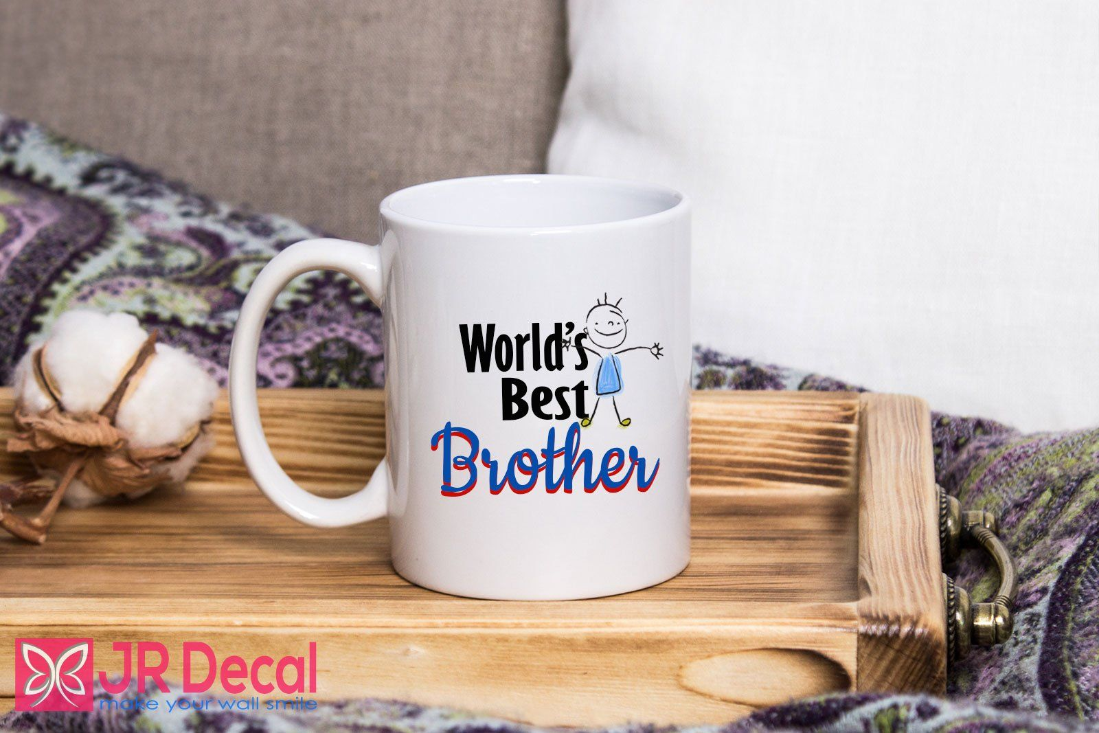 World/'s Best Brother 10oz Mug Cup Funny Gift Present
