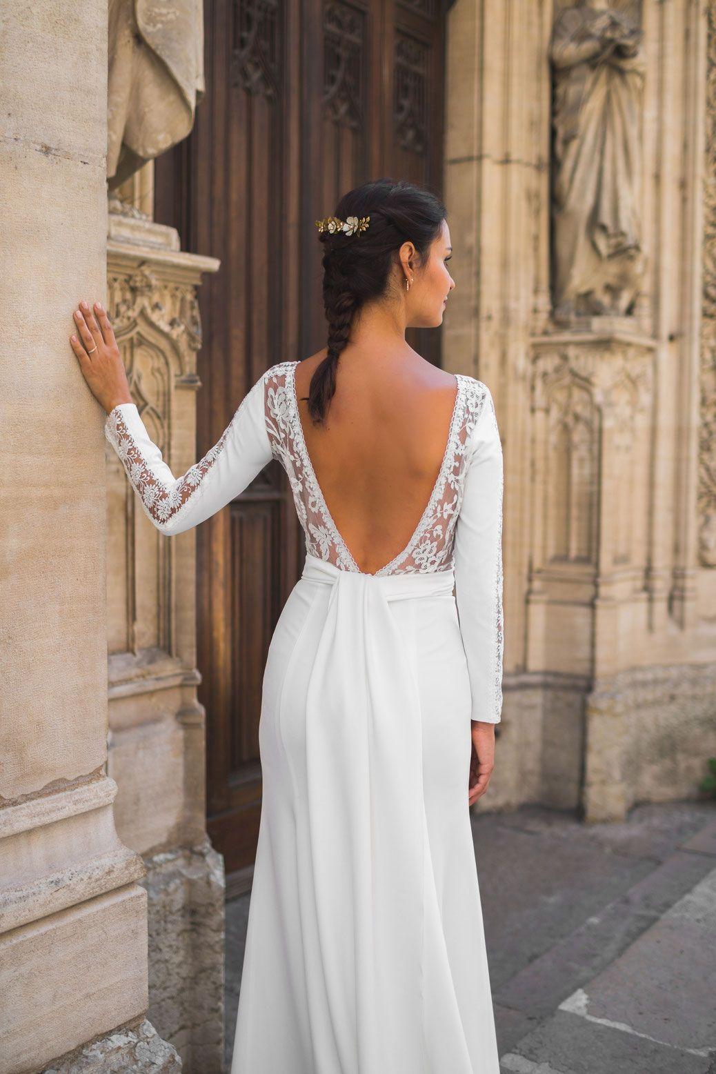 a68fb178bc5 Robe Escallonia - Ludivine Guillot - Robe de mariée sur mesure - Lyon