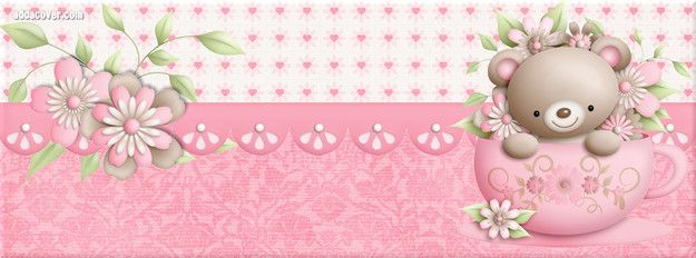 Cute Teddy Bear Facebook Cover Facebook Covers Pinterest Cover