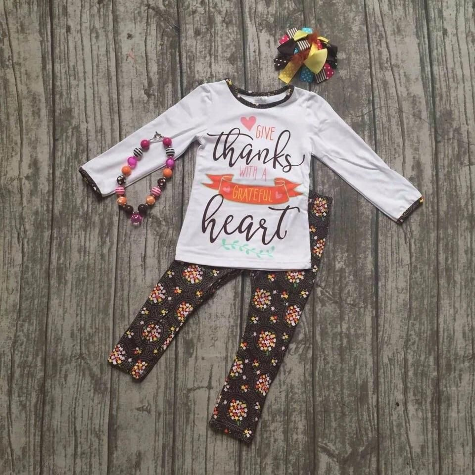 85e05956b ... Children's Boutique specializes in adorable boys and girls clothing  from newborn to tweens. Give Thanks with a Thankful Heart with accessories