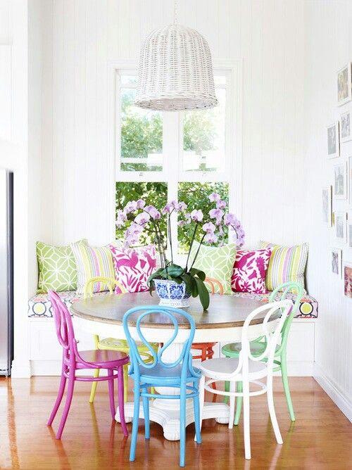 Bunte Stühle | Home | Pinterest | Bunte stühle, Stuhl und Bunt