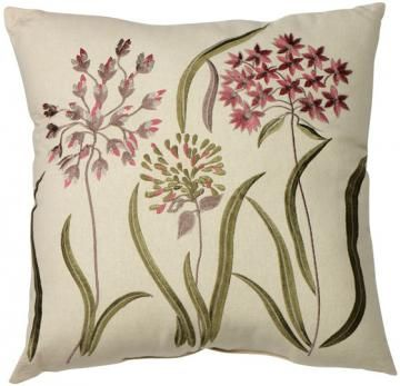Lillian Flower Decorative Pillow   Decorative Pillows   Home Accents   Home  Decor | HomeDecorators.