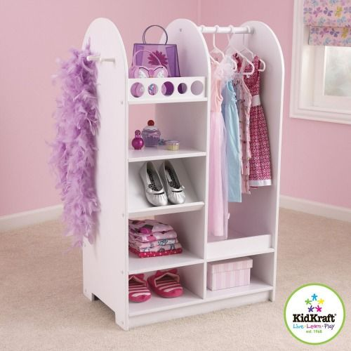 Kids Dress Up Clothes Storage Organization Ideas