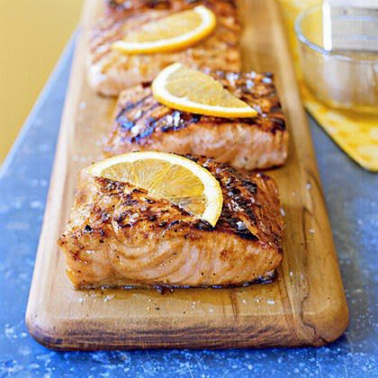 Maple Grilled Salmon Recipes Fish Recipes Food
