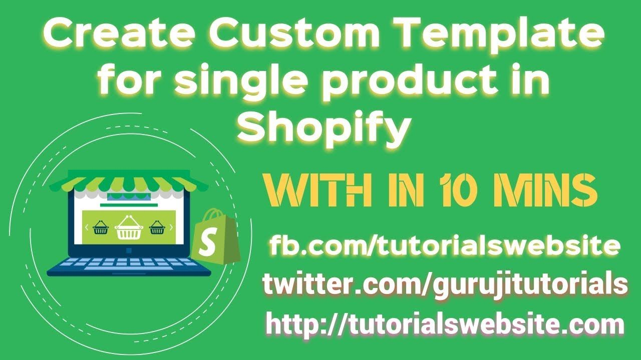 Shopify Custom Product Page Template Creating Custom Template For - Shopify custom page template
