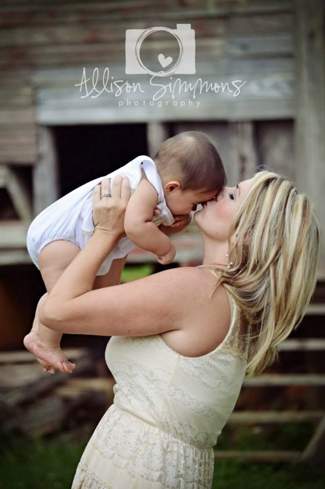 Mommy Me Photography Baby Boy 3 Months Old Photo Session