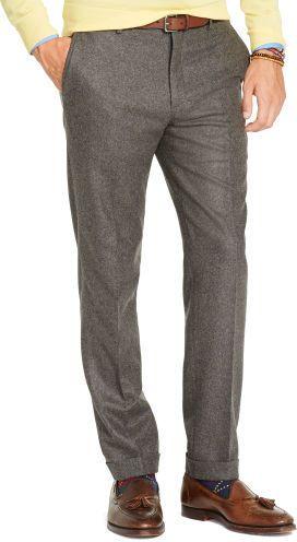 350 Polo Ralph Lauren Slim Fit Wool Flannel Trouser Mens Wool Pants Ralph Lauren Slim Fit Polo Ralph Lauren