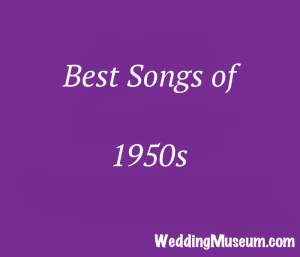 100 Best 1950s Music for Weddings, 2019 in 2019 | Music Mania