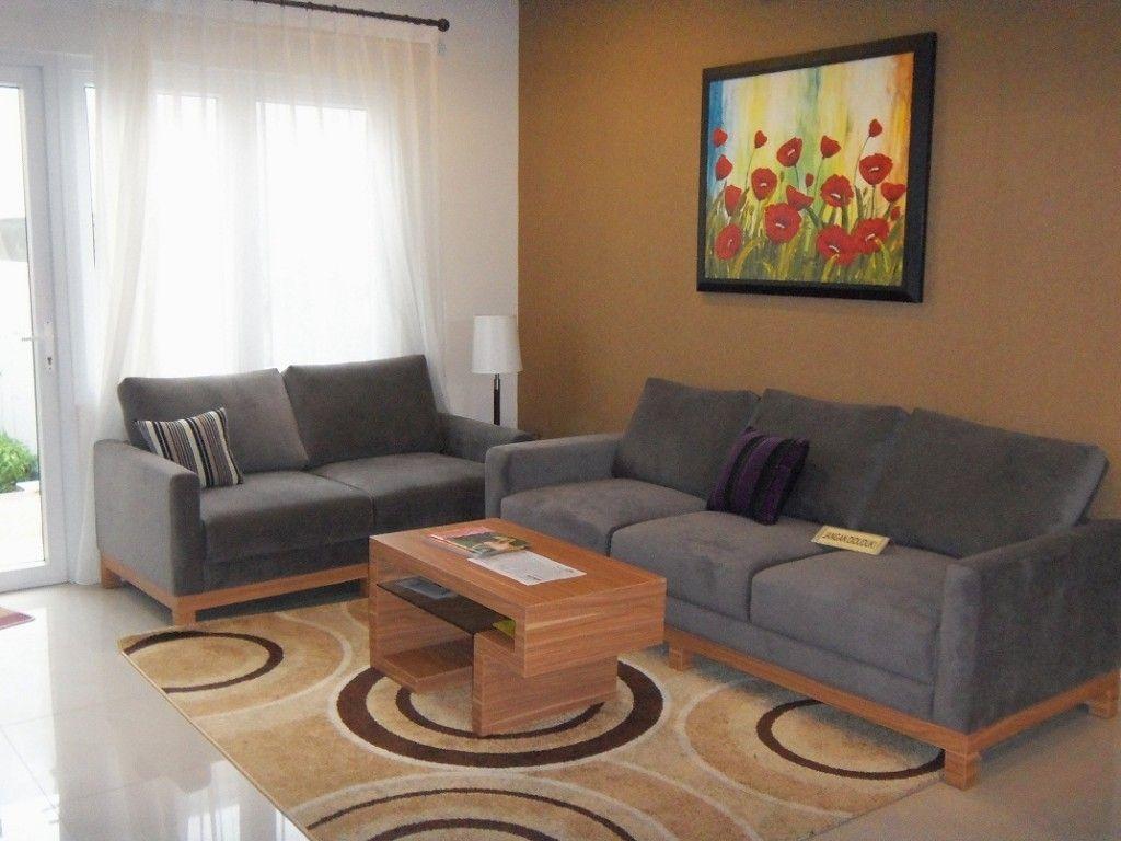 Warna Cat Untuk Ruang Tamu warna coklat Tips Properti